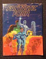 1977 Marvel Comics Index #4 Fantastic Four VG+ Jim Steranko Cover