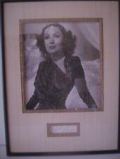 Vintage Delores Del Rio Autographed Picture