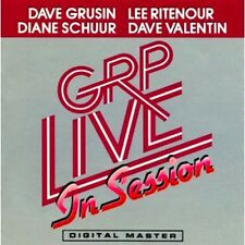 "DAVE GRUSIN & LEE RITENOUR ""GRP LIVE IN SESSION"" PREMIUM QUALITY USED LP (NM/EX)"
