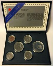 1987 ~ CANADA Royal Canadian Mint SPECIMEN SET ~ 6 COINS ~ CLEARANCE PRICED !!!