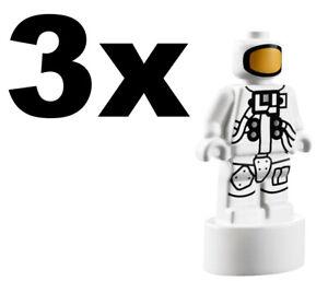 NEW LEGO - MicroFig - Astronaut x 3 - 21309 Apollo Saturn V Rocket GENUINE LEGO