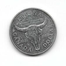 Canada 1982 1 dollar silver  XF