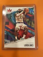 2019-20 Panini Court Kings - LEBRON JAMES - Ruby Parallel 20/149