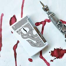 ST Dupont MiniJet White Skull & Chrome Finish Lighter