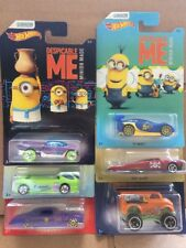 Hot Wheels Diecast-Méprisable Me Minion Series FULL SET OF 6-BOUFFON, DEORA II