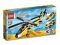 LEGO CREATOR 31023 - ELICOTTERO BOLIDI GIALLI ►NEW◄ PERFECT NEVER REMOVED