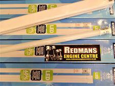4FT tubi a LED con raccordi X5, Fluorescente Ricambio Basso 18 Watt Cool Bianco