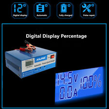 12V/24V 200ah Electric Car Auto Battery Charger Intelligent Pulse Repair Type