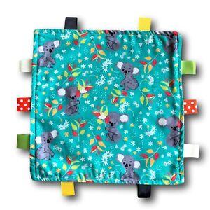 KOALA Theme Tactile Baby Security Blanket
