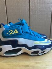 Nike Air Griffey Max 1 Pure Platinum/Midnight Navy 354912-008 Size 10 PreOwner