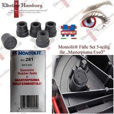 "Montolit® Füße Set 5-teilig für ""Masterpiuma Evo3″"