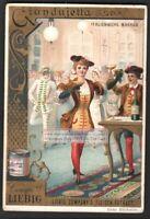 Italy Carnival  Giandujetta Costume Festival 1892 Trade Ad Card