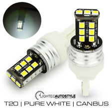 2x T20 W21/5W CANBUS LED PURE WHITE 7440 7443 DRL DAYTIME RUNNING LIGHT BULBS