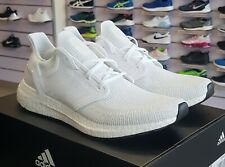 adidas Ultraboost 20 Men's Shoes Runners Us10 10us EF1042 Triple White