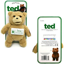 Ted Talking Backpack Clip Plush Teddy Bear by Commonwealth