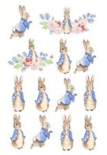 🐰1x Peter Rabbit Vintage Temporary TATTOO Sheet. Lolly Loot Bag Party Supplies