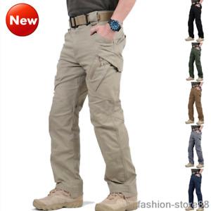 IX9 Safari Men's Tactical Cargo Pants Military Man Combat Trousers Assault Pants