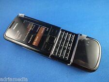 Nokia 8800 BLACK arte Nero Telefono assolutamente NEW NUOVO MADE IN KOREA Lifetimer 0:00