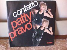 Patty Pravo – Contatto  .  1987 Vinile 45 giri