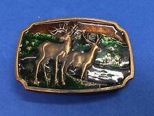 A16 TWO Deer IN NATURE  - HUNTING?   KOLEACO BELT BUCKLE