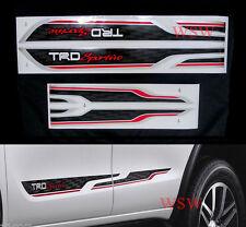Black Sticker TRD Sportivo Side Decal Fit Toyota Hilux Revo Sr5 M70 4D 2016 2017