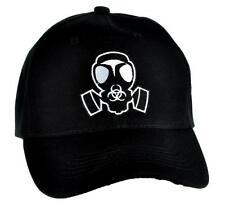 Gas Mask Bio Hazard Sign Hat Baseball Cap Gothic Cyber Ebm Industrial Apocalypse