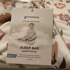 GUNAMUNA Bamboo Viscose Classic Duvet Baby Sleep Bag WONDERZiP 3-9 Months Floral