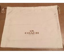 Authentic Coach Brand New Satin Dust Bag Storage Bag Duster LARGE 19.50x15.25