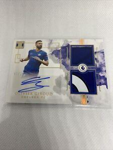 Olivier Giroud Impeccable Patch Auto /10 SSP Chelsea FC