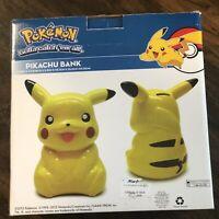 Pokemon Pikachu Figure piggy Bank FAB Starpoint New In Box