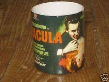 Christopher Lee Cushing Dracula Advert MUG Blk
