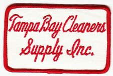 TAMPA BAY CLEANERS SUPPLY Inc. - Vintage COMPANY PATCH