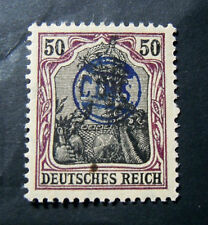 """GERMANIA,GERMANY D.REICH PLEBISCITO 1920 OVP """" C.I.H.S."""" 50 c. MH RARE Signed"""