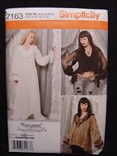 NEW OOP Simplicity 2163 Women Steam Punk Gothic Costume Pattern Size 6-12