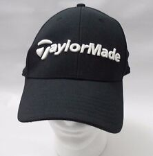 Taylor Made Golf Embroidered Adjustable Strapback Baseball Cap Black
