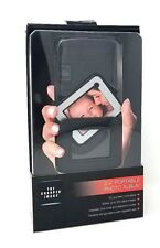 "THE SHARPER IMAGE 2.4"" PORTABLE PHOTO ALBUM STORES 200 DIGITAL IMAGES PC MAC COM"