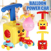 Inertia Balloon Launcher & Powered Car Toys Set Toys Gift For Kids Experiment AU