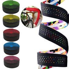 2PCS Road Bike Handlebar Tapes Belt Washable Wrap Cycling Handle Cork Straps