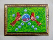 Persian Khatam Jewelry/Card/Trinket/Gift Box Wooden Handcraft Inlaid Islamic Art