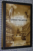SIGNED CHRISTOPHER GRAY New York Streetscapes Manhattan's Buildings & Landmarks