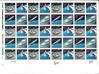 US SCOTT C122 - 125 PANE OF 40 20TH POSTAL CONGRESS AIR MAIL STAMPS  45 CENT MNH