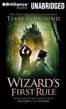 Sword of Truth: Wizard's First Rule 1 by Terry Goodkind (2008, CD, Unabridged)