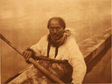 Edward Curtis - Nungoktok - Noatak - 1928 - Vintage  Large Format Photogravure
