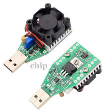 USB DC Load Discharger Adjustable Power Resistor Mobile Aging module 1A 2A 3A