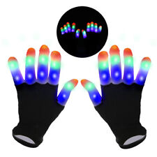 Led Light Up Gloves For Kids,Flashing Cool Fun Toys For 4 5 6 7 8 9 10 Year Old