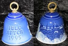 1995 BING & GRONDAHL WEIHNACHTSGLOCKE / CHRISTMAS BELL TOP 1. WAHL