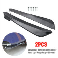 Car Bumper Spoiler Rear Lip Canard Diffuser Rear Wrap Angle Shovel Anti-scratch