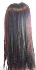 Reversible Drawstring ponytail DSP-253 color: FS1B/Burgundy