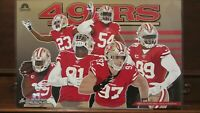 SAN FRANCISCO 49ers NFC CHAMPIONS Offense & Defense 2020 COMMEMORATIVE POSTERS