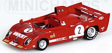 ALFA ROMEO 33 TT12 1000Km MONZA 1975 Ganador #2 MERZARIO LAFFITE 1:43 MINICHAMPS